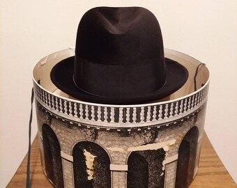 Mens Vintage Borsalino   Diamante venticinque   cappello 216c30282a16