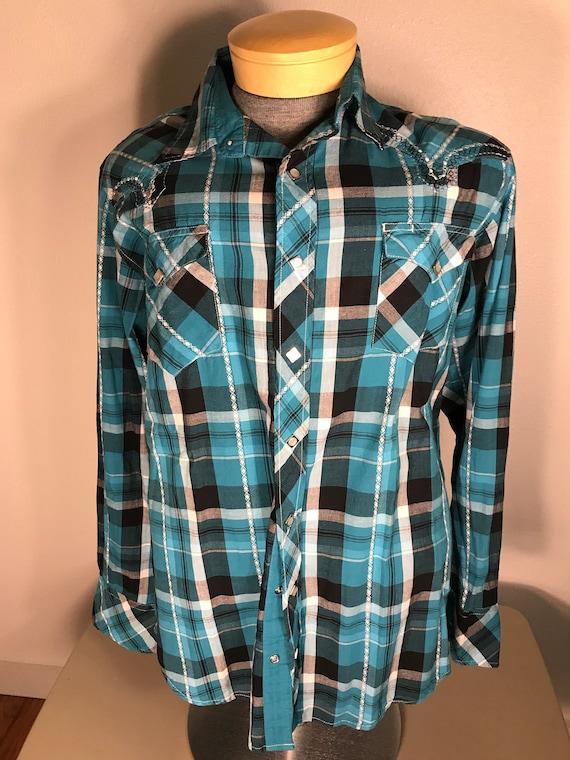 Roper vintage Western rockabilly shirt