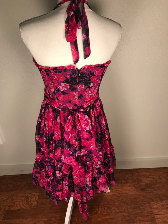 Betsey Johnson halter neck dress - image 3