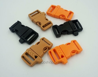 "3//4/"" 20mm Colorful Whistle Buckle Outdoor Camping Emergency Survival Buckle"