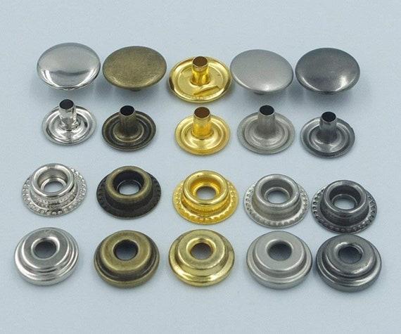 """20 Set Prym  Brass Snaps Button~#1~ Black~Round~3//8/"""""""