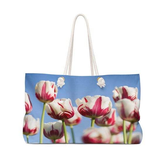 The Tulips - Flowers Weekender Bag