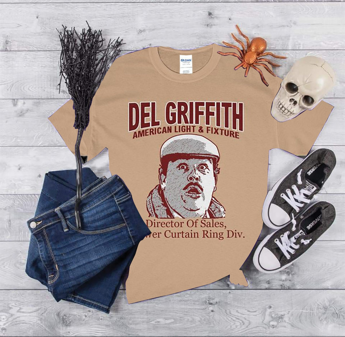 John Candy Del Griffith Planes Trains And Automobiles T Shirt Unisex Heavy Cotton Tee