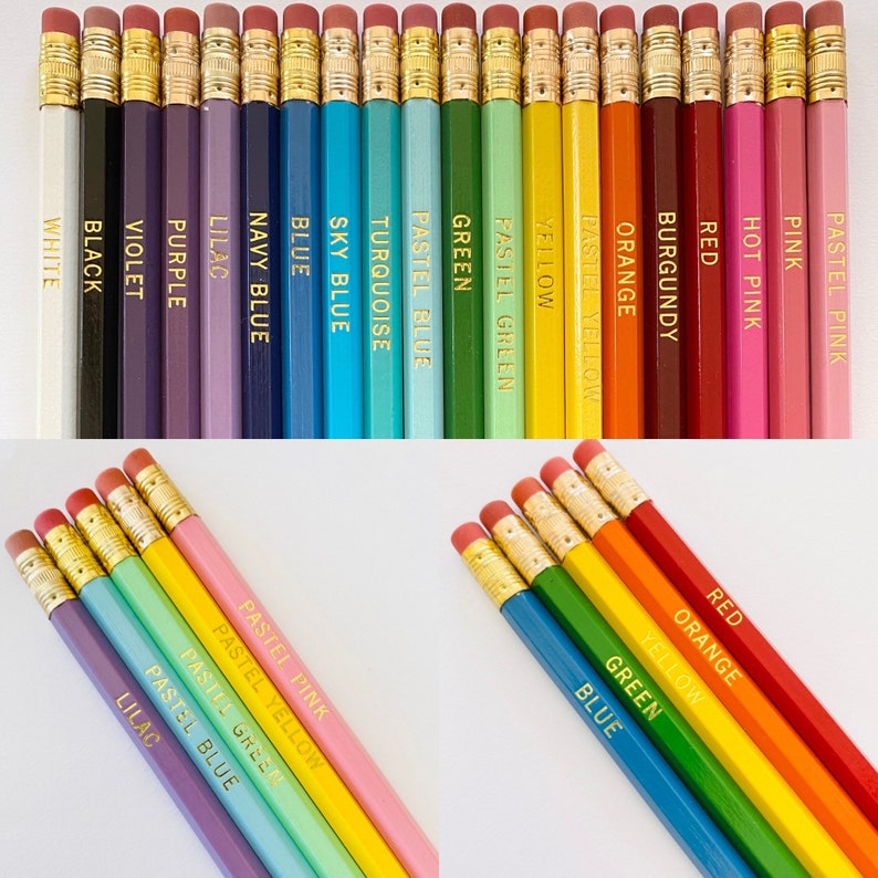 Personalized Pencils 5 Pack image 0