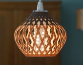 Lampshade for IKEA Sekond pendant light fitting - 3D-Printed