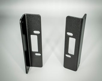 """Aluminum Behringer Pro-1 19"""" Rack Ears (Pair) 80HP"""