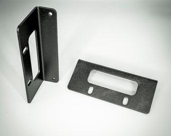 """Aluminum Rack Ears  for the Behringer Model D - 19""""  70HP (Eurorack Chassis) Pair"""