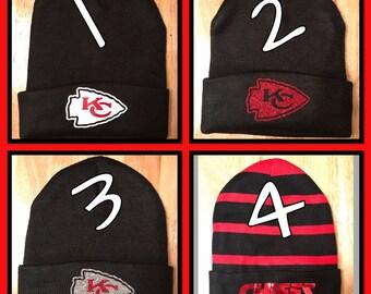03a1549bbe6521 Kansas City Chiefs stocking Cap