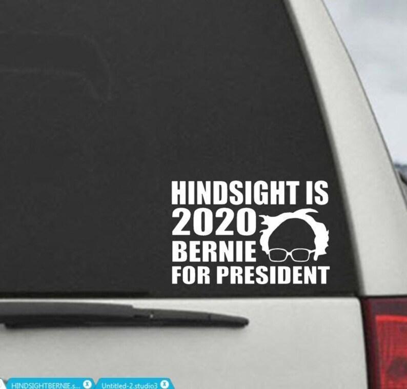Hindsight 2020 Vinyl Vinyl Decal Wall Laptop Bumper Sticker 5