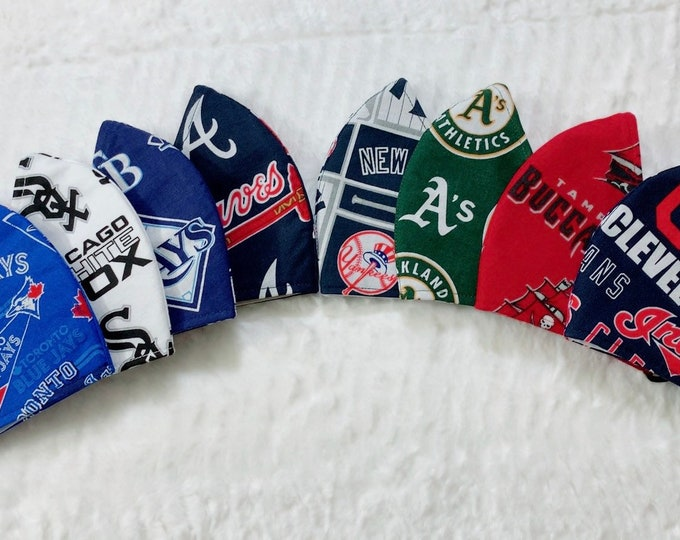 MLB Teams Face Masks