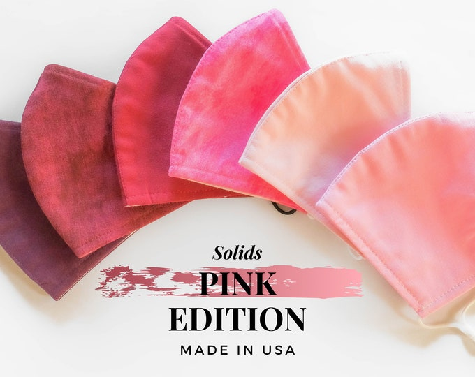 Solid Color Masks (Pink Edition)