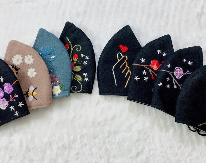 Embroidery's Face Masks