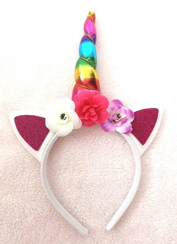 Unicorn Magic Unicorn Kids Little Girls Boys Dressing Up Headband Hairband
