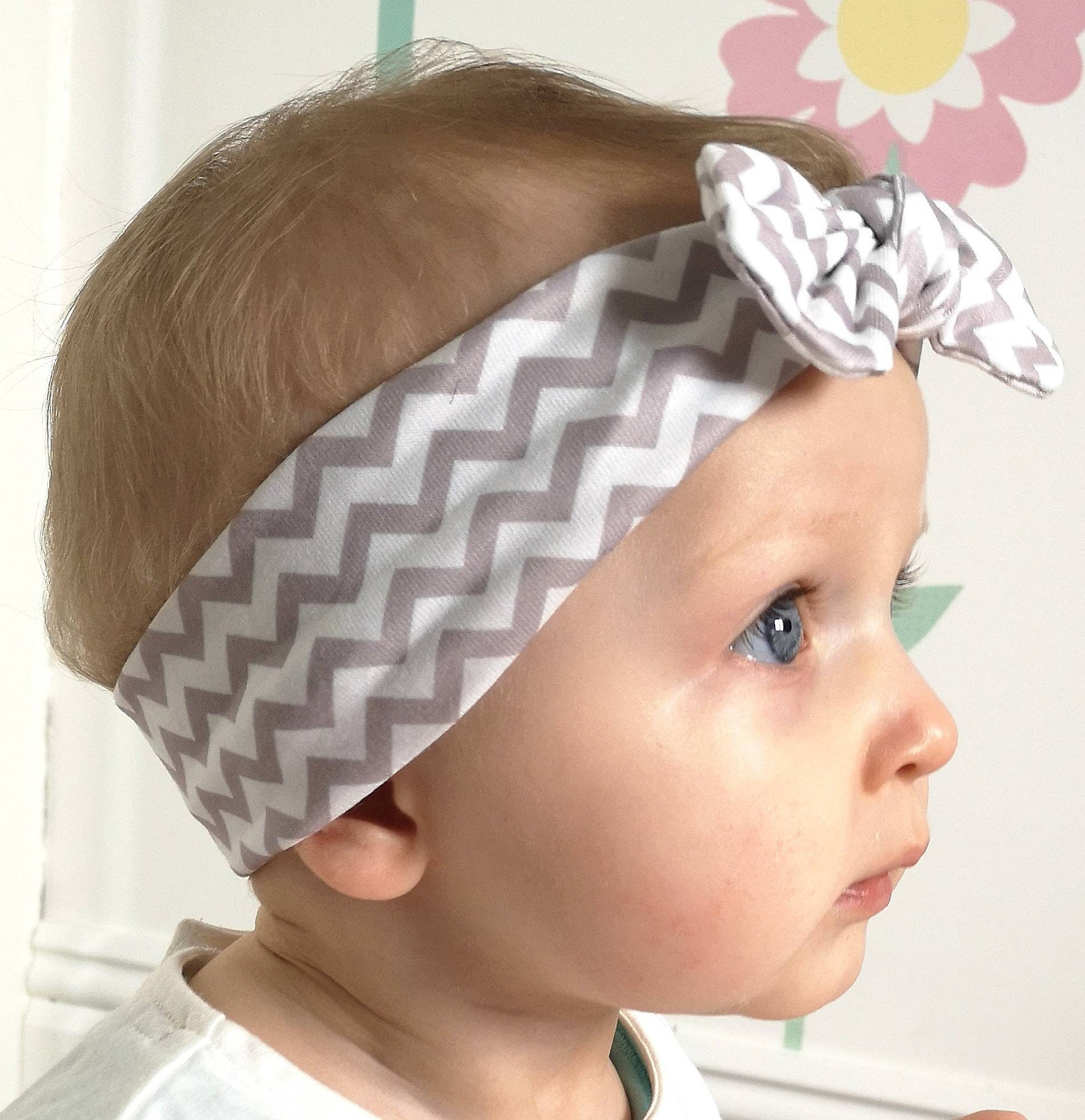 Cute Polka Dots Baby Girls Turban Knot Headwrap Cotton Full-head Wrap Headband