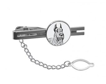 Scottish Terrier Scottie Dog Breed Satin Chrome Plated Metal Money Clip