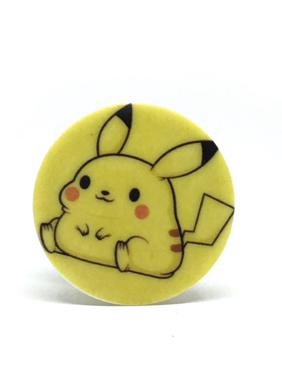 Fat Pikachu Collapsible Grip Stand For Phones Etsy *offers u a fruit gummy**offers u a fruit gummy**o. etsy