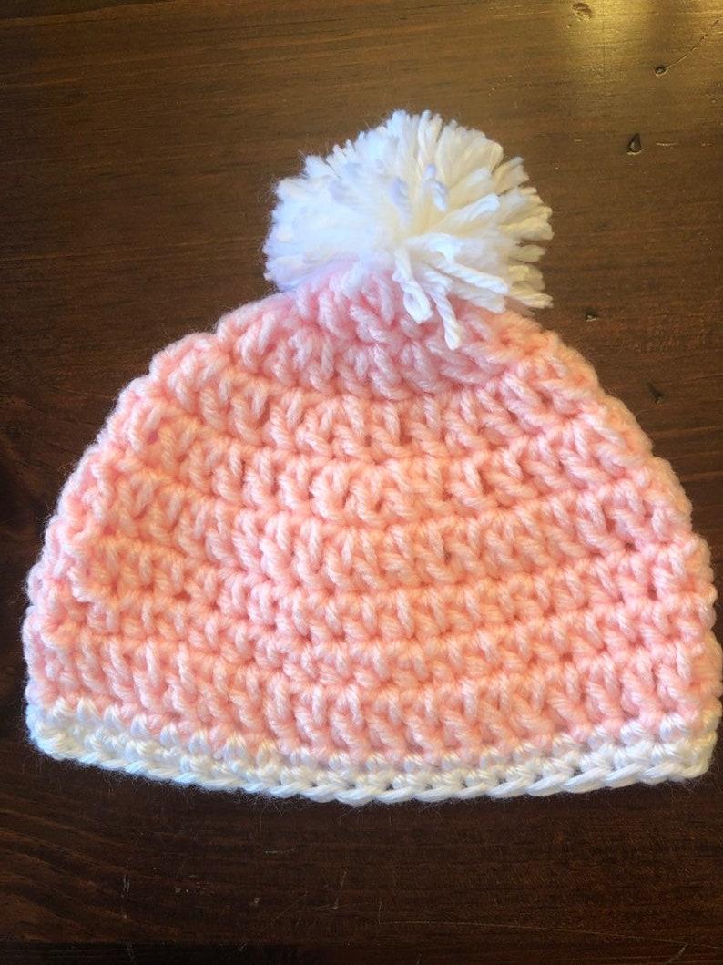 Crochet baby beanie baby Shower gift Crochet baby hat baby hat baby girl baby gift baby beanie