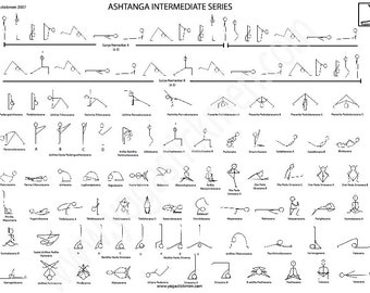 A4 Ashtanga Full Intermediate Series Downloadable PDF