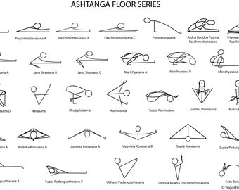 Ashtanga Floor Series Downloadable PDF