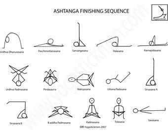 Ashtanga Finishing Series Downloadable PDF