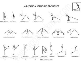 Ashtanga Standing Series Downloadable PDF