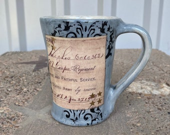 Gold Star World War I Veteran Mug