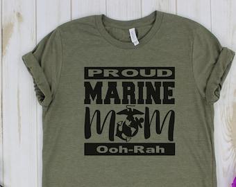 c4d4972b Proud marine mom | Etsy