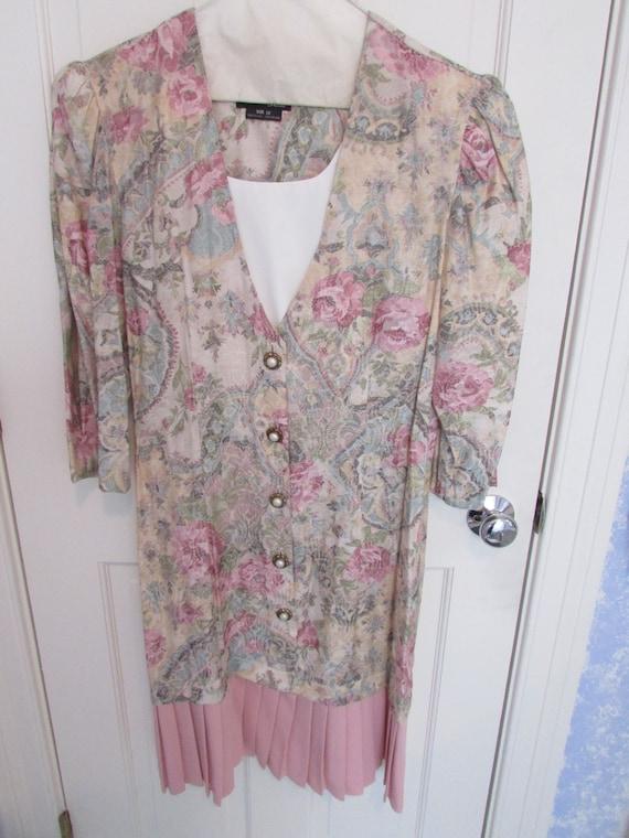 Women's Dress - Vintage 1980s