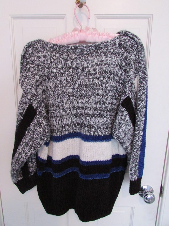 1980s Acrylic and Cotton Sweater - Vintage 1980s - image 2
