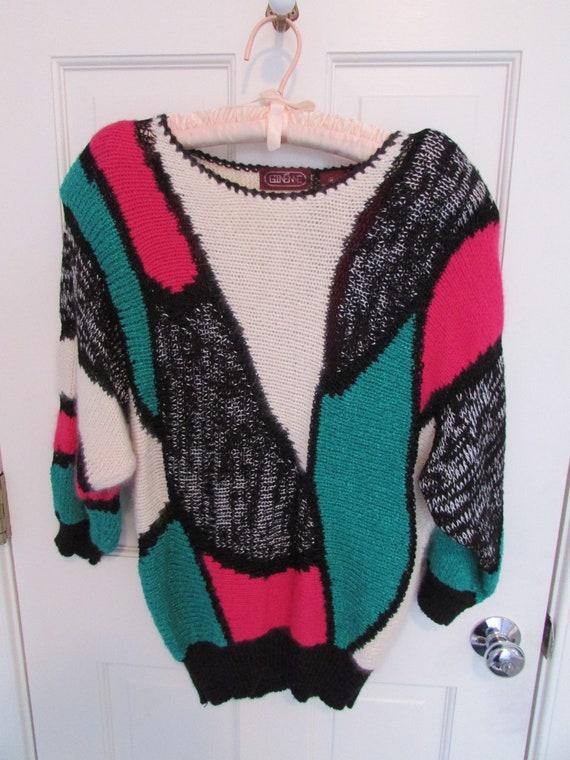 Women's Sweater - Vintage 1980s
