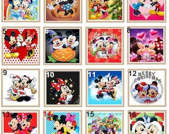 5d Diamond Painting Disney Character Collection Kit Needlecrafts Yarn