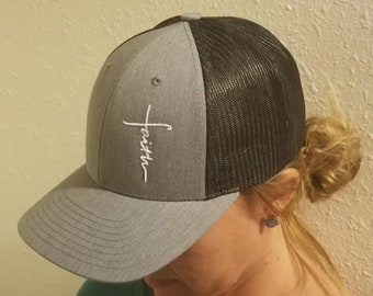 Faith Cross Richardson 112 Custom Hat b3ff0cd1076