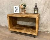 Record Player Stand - Reclaimed - TV Unit Industrial LP Storage Turntable - Record Player Table - Vinyl Record Storage