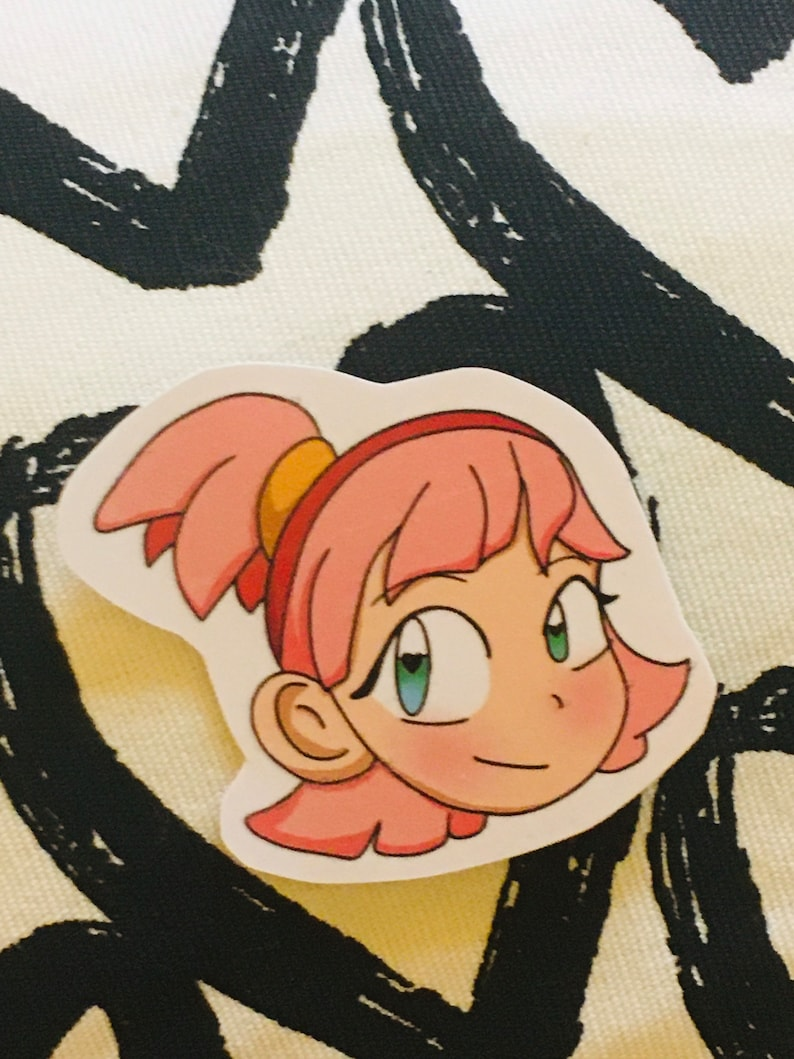 But 2 Get 1 FREE Human Amy Rose the Hedgehog Sticker Decal Sonic the Hedgehog Cute Adorable and Fun Gifts