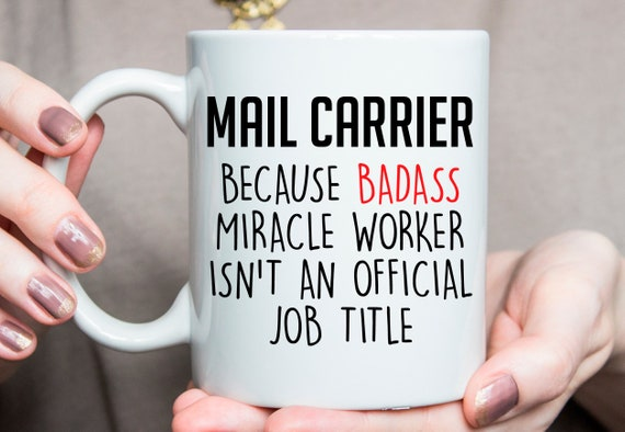 Gift Ideas For Mail Carrier Mail Carrier Present Mail Carrier Coffee Mug Mail Carrier Birthday Gift O278