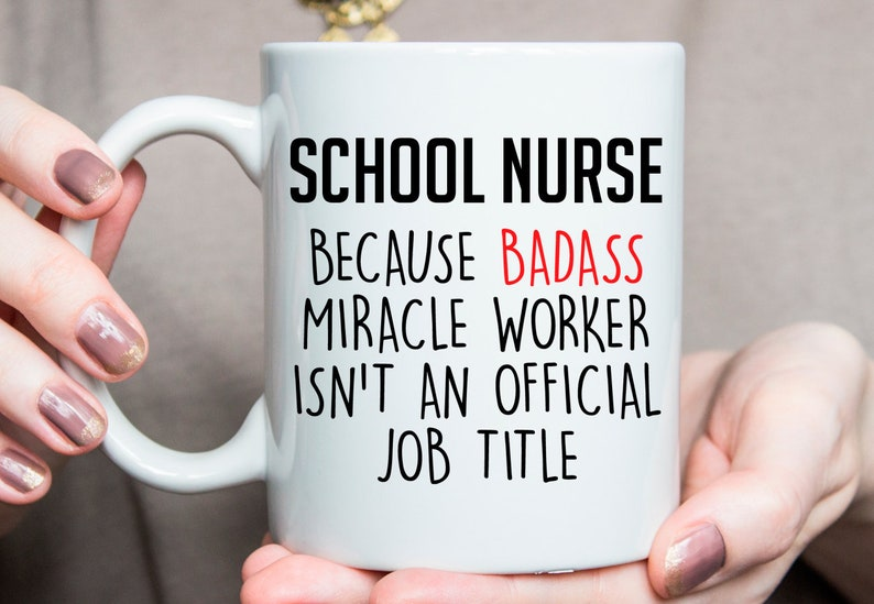 Gift For School Nurse School Nurse Mug Best School Nurse Ever School Nurse Gift Ideas Xmas Gift For School Nurse O341