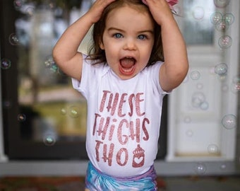 Custom Toddler T-Shirt Pretty Eyes Chubby Thighs Funny Gag Style C Cotton