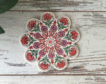 Ceramic trivet | Etsy