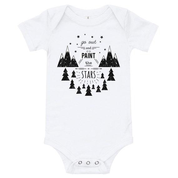 Baby Onesies Geometric Avocado 100/% Cotton Baby Jumpsuit Comfortable Short Sleeve Bodysuit