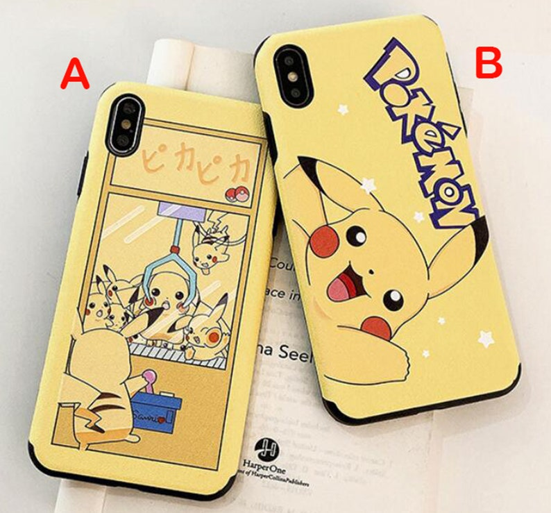 Cool Character Pikachu Phone Case Cover