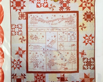 10/% Off Crab-apple Hill Sewing//Quilt Pattern-Frosty/'s Tree Farm