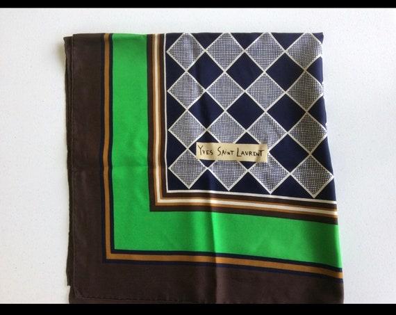 Vintage YSL scarf