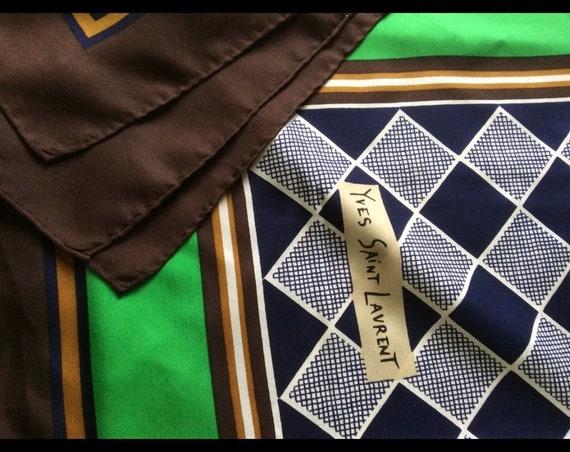 Vintage YSL scarf - image 2