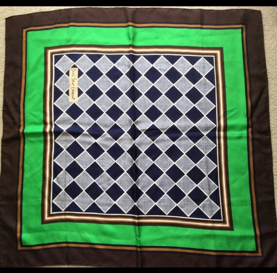 Vintage YSL scarf - image 4