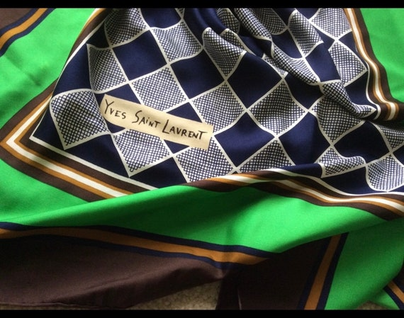 Vintage YSL scarf - image 3