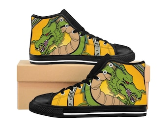 new arrivals 67e58 26b85 Dragon ball Shenron Shoes, Dragon Ball Z Custom Shoes, Men s High-top  Sneakers