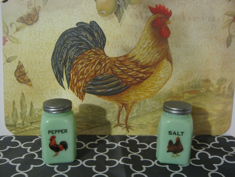 Blauman Salt and pepper shakers