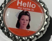 Nurse Rached Name Badge - WWNRD or Hello My Name is........