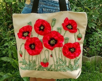 18b8ba9cf259 Embroidered bag | Etsy