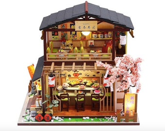 Dollhouse /& Miniature Dolls/' Houses Miniature 1:12 and 1:24 Scale Size Spaghetti Box Welcome to Minimum World